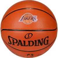 Spalding Los Angeles Lakers Official Size Logo Basketball