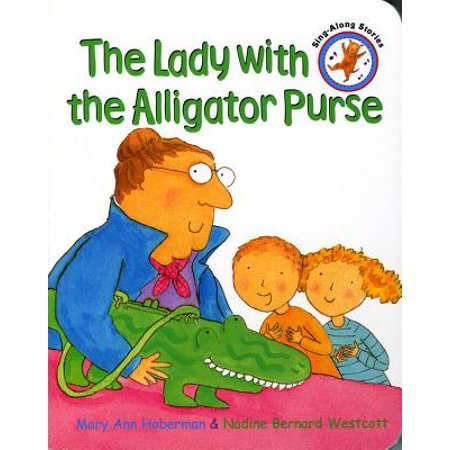 The Lady with the Alligator Purse (Board Book) - Little Alligator