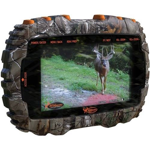 "Wildgame Innovations Sports & Outdoors Trail Game Camera Media Viewer, 4.3"" Color Display Trail Cam SD Viewer"