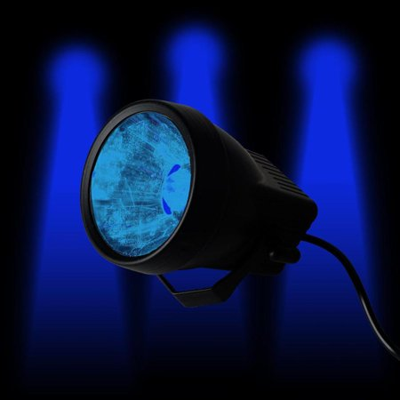 Blue Led Spotlight (3 Watt BLUE Landscape Backdrop Reception Party Stage LED Spotlight Up Light)