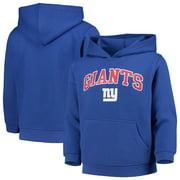 Youth Royal New York Giants Team Fleece Pullover Hoodie