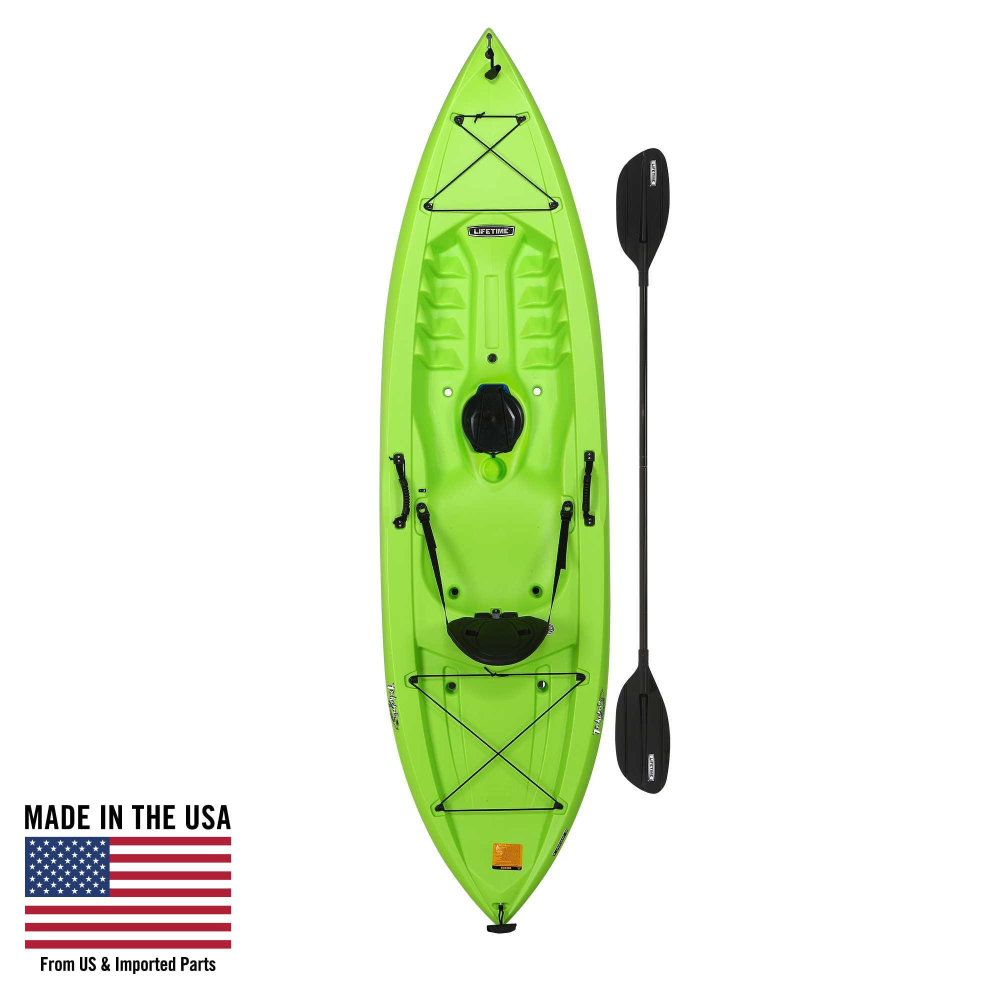 Lifetime Tahoma 100 Sit-On-Top Kayak (Paddle Included), 90816
