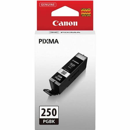 Canon PGI-250 PGBK Pigment Ink Tank, Black 9 Matte Black Ink Tank