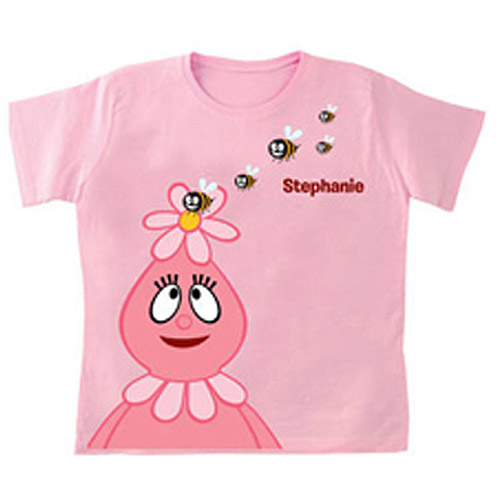 Personalized Yo Gabba Gabba! Foofa Friendly Bees Girls' T-Shirt