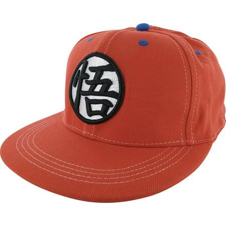 Dragon Ball Z Goku s Kanji Snapback Hat - Walmart.com 505ff6a5ba3
