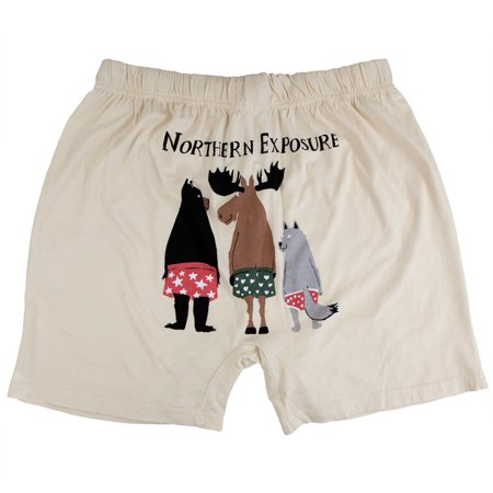 Lime Boxer Shorts (North American Wildlife Northern Exposure Men's Boxer Shorts)