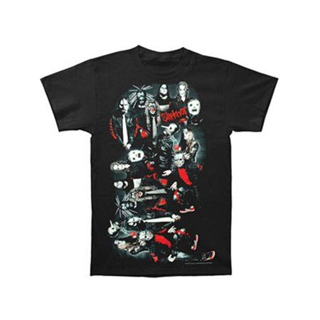 Slipknot Men's  Mask Hell T-shirt Black](Slipknot Suits)