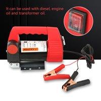 Anauto 12V Car Oil Pump, Car Oil Extractor Pump, Car Oil Diesel Suction Extractor Transfer Pump 12V 175W