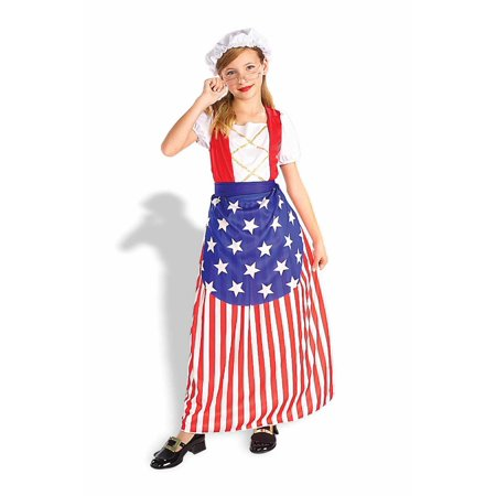 Girl's Betsy Ross Costume - Lambert Hendricks Ross Halloween