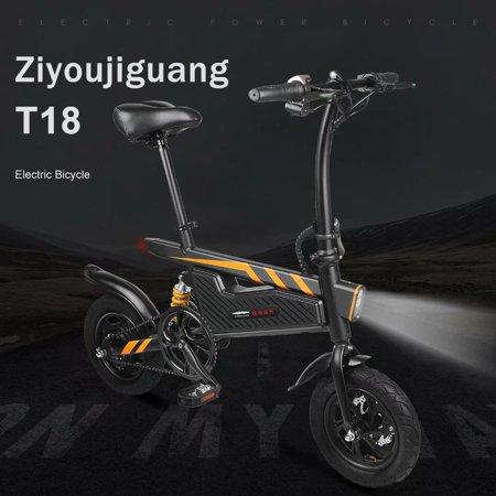 - Riding Electric Power Assisted Folding Bicycle Electric Scooter for Adults
