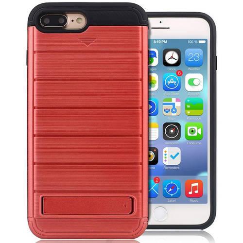 "KIKO Wireless Card Pocket Hybrid Case Cover for Apple iPhone 7 Plus, 5.5"""