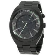 Diesel Men's DZ1415 NSBB Black Dial Black Ion Plated Stainless Steel Quartz Watch