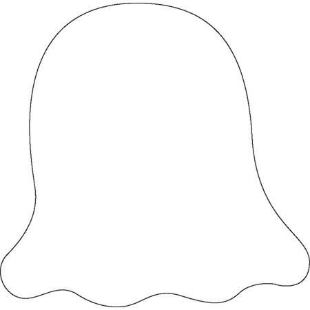 Sticky Shape Notepad - Ghost (Ghost Notes)