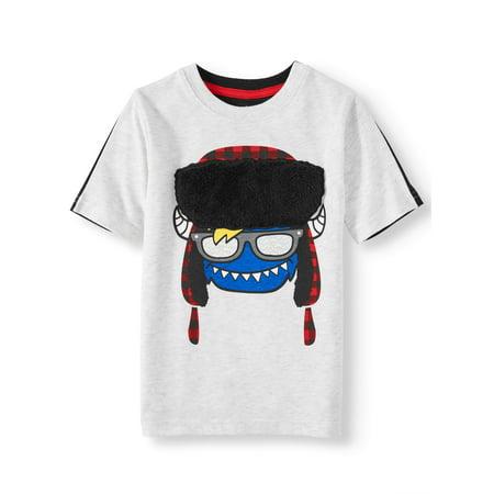 365 Kids from Garanimals Short Sleeve Monster T-Shirt (Little Boys & Big Boys)