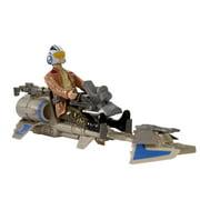 Star Wars Speeder Bike With Poe Dameron
