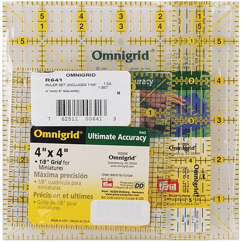 Omnigrid Ruler Set, Squares