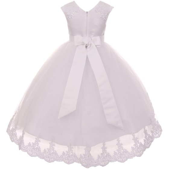 516421efee8 Dreamer P - Big Girls  Dress Lace Tulle Holy First Communion Wedding ...
