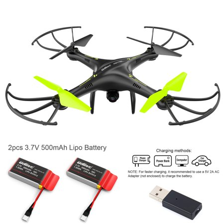 Cheerwing Petrel U42W Wifi FPV Drone 2.4Ghz RC Quadcopter with HD Camera, Altitude Hold and Flight Route Setting Mode, One Key Take Off / Landing
