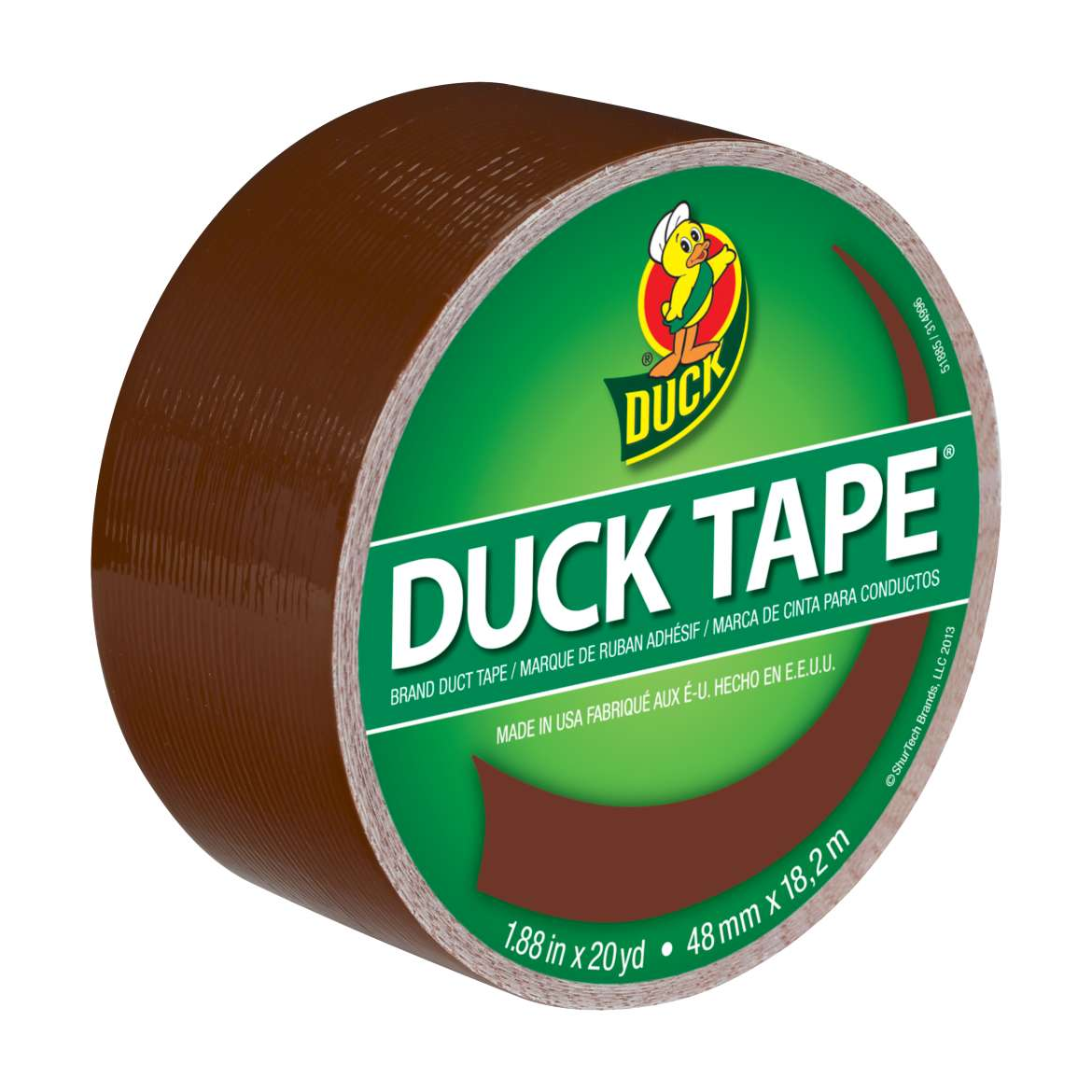 Color Duck Tape Brand Duct Tape - Brown, 1.88 in. x 20 yd.