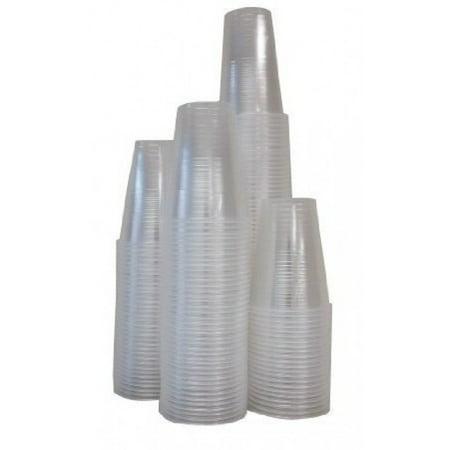 Disposable Translucent 7 Oz. Plastic Cups - 480 Count Mega
