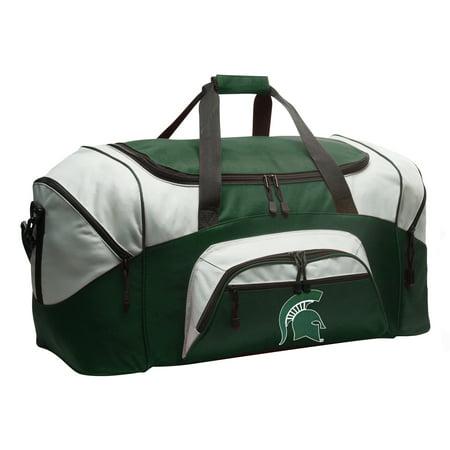 Broad Bay Michigan State Duffel Bag or Michigan State Gym - Michigan State Spartans Gym Bag