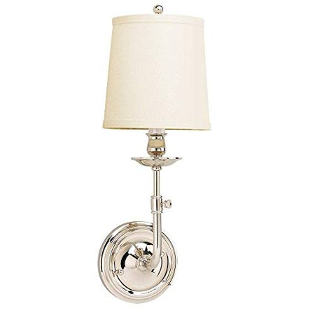 Hudson Valley Lighting 171 Pn One Light Wall Sconce From The Logan Collection 1 Polished Nickel