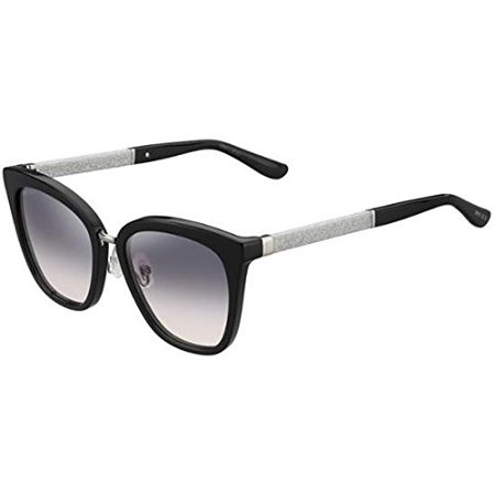 Gradiant Lens - Sunglasses Jimmy Choo Fabry/S 0FA3 Black / 9C dark gray gradient lens