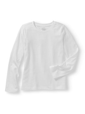 a39116e9 Product Image Girls' Long Sleeve Crew Neck T-Shirt. Product TitleFaded GloryGirls'  ...