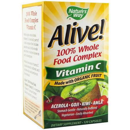 Vivant Organic vitamine C 120 CT
