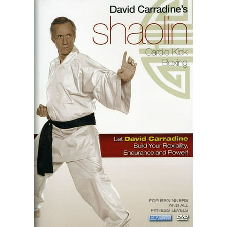 David Carradine's Shaolin Cardio Kick Boxing Workout (DVD)