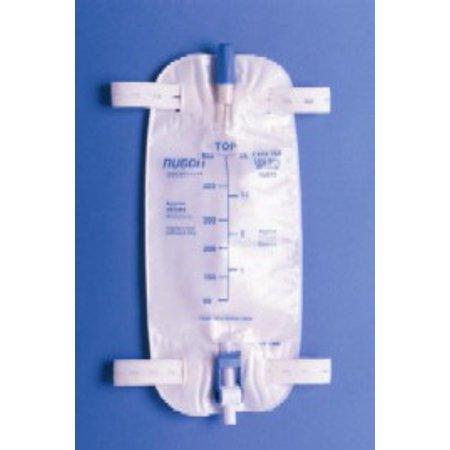 Leg Drainage Bag - Easy Tap Urinary Leg Bag  Anti-Reflux Valve, 32 oz.