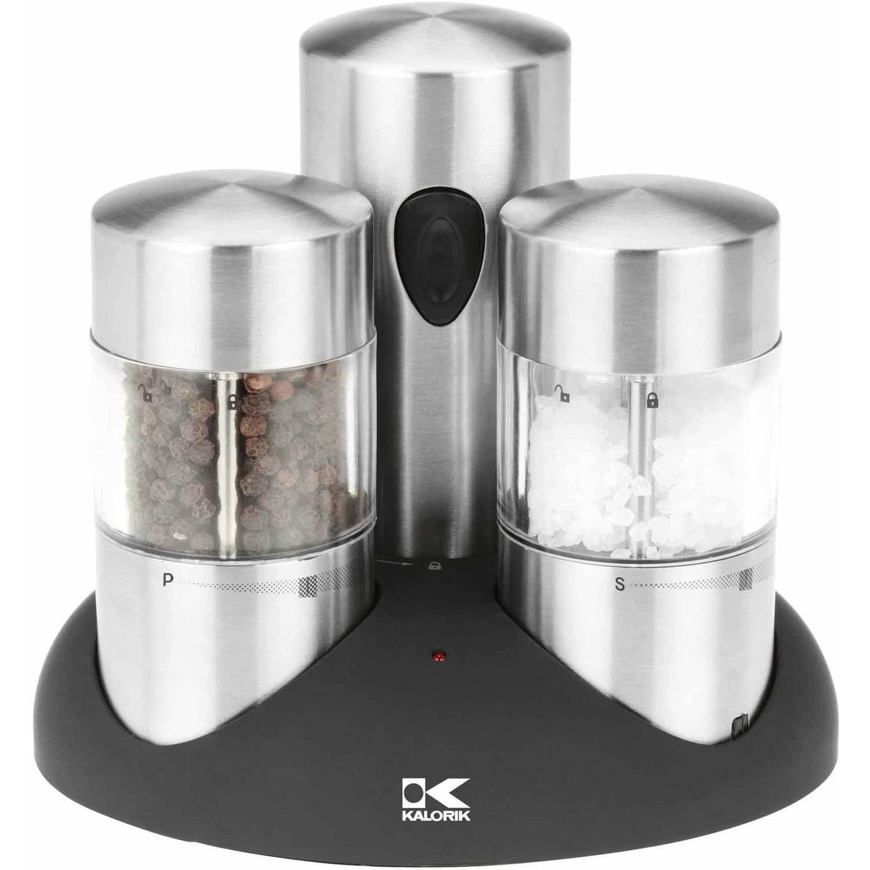 gemco glass salt  pepper shaker set  walmartcom -