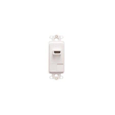 INSERT, DECOREX, 2-PORT, HDMI, WHITE