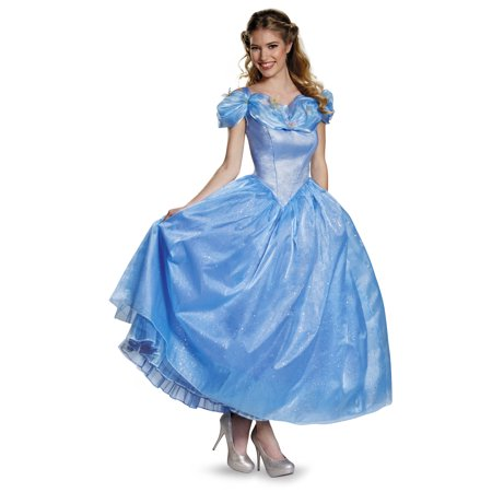Cinderella Movie Prestige Women's Plus Size Adult Halloween Costume, One Size, - Cinderella Costume Plus Size