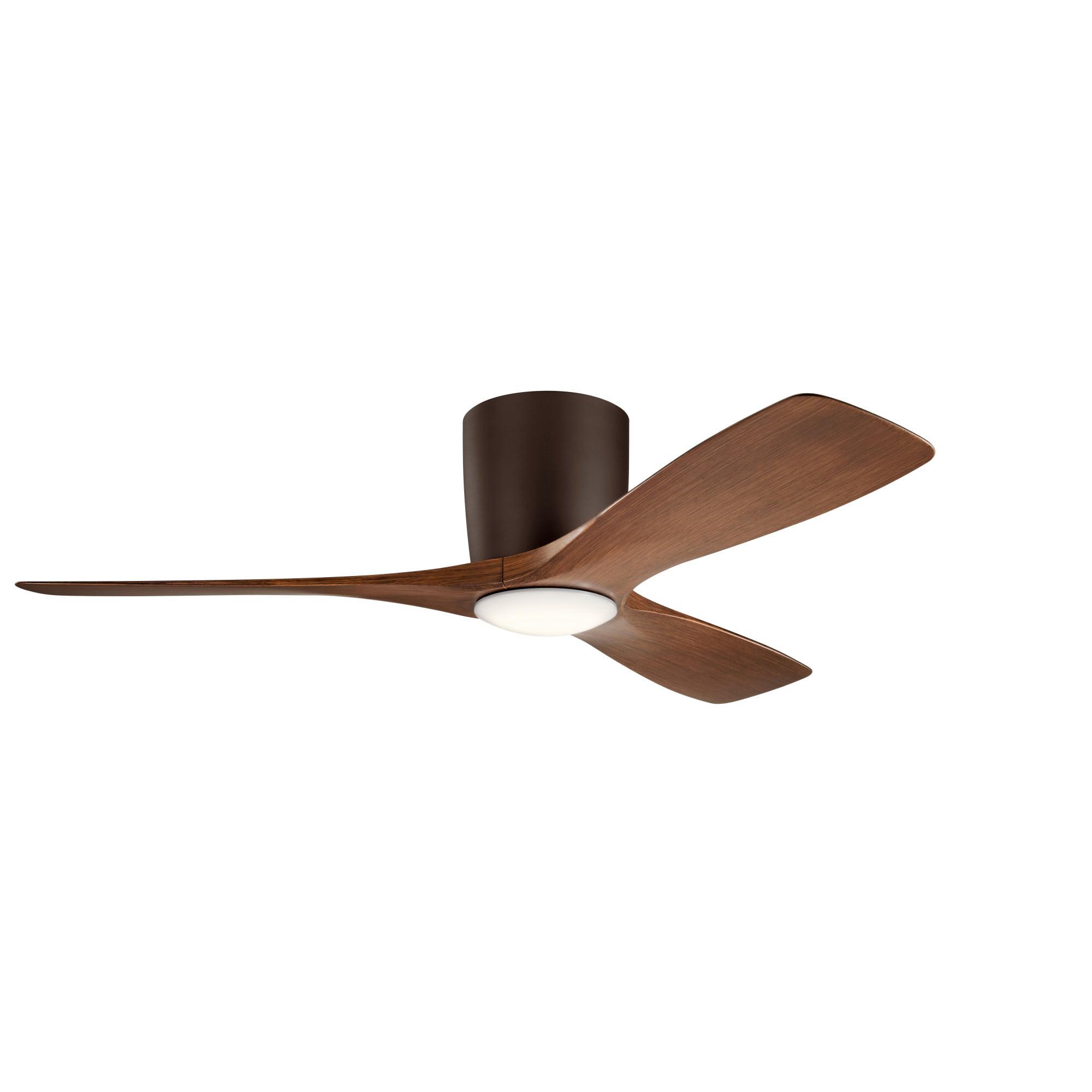 Kichler 300032 Volos 48 3 Blade Hugger Indoor Ceiling Fan Walmart Com Walmart Com
