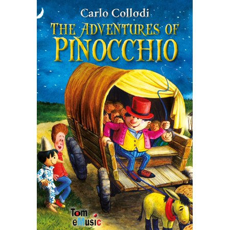 The Adventures of Pinocchio. An Illustrated Story of a Puppet for Kids - - Storybook For Kids