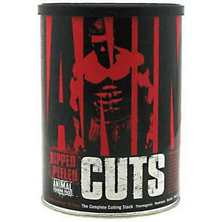 Nutrition Training - Universal Nutrition Animal Cuts, Ripped and Peeled Animal Training Pack, 42 Ct