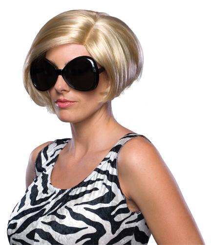 Victoria Beckham Blonde Short Wig for Halloween Costume