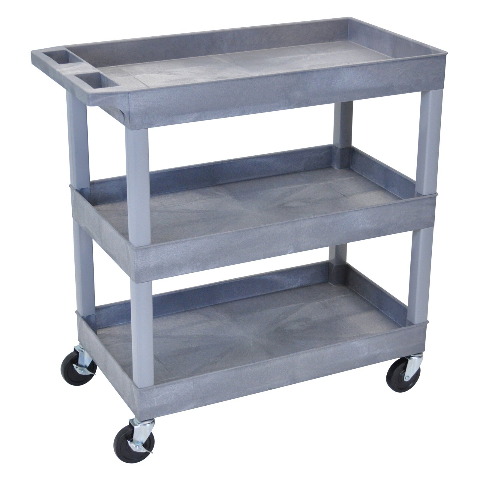 Luxor 3-Shelf Tub Cart