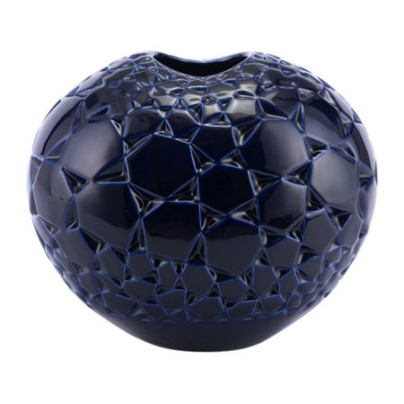 Wrought Studio Mcmunn Table Vase - Navy Vase