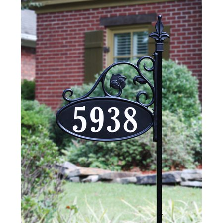 Pinecone Address Plaque - 48