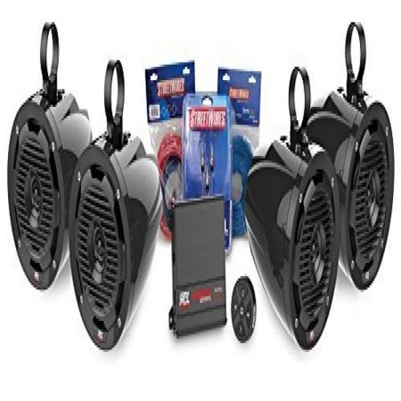 MTX MOTORSPORTS BORVKIT2 Bluetooth Tower 4-Speaker & Amplifier Off-Road Motorsports Package - Alton Towers Halloween Package