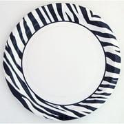 "9"" Zebra Chic Party Plates, 10ct"
