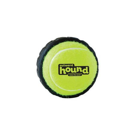 Tire Ball, Large Squeak and Bounce Dog Toy (Large Squeak Toy)
