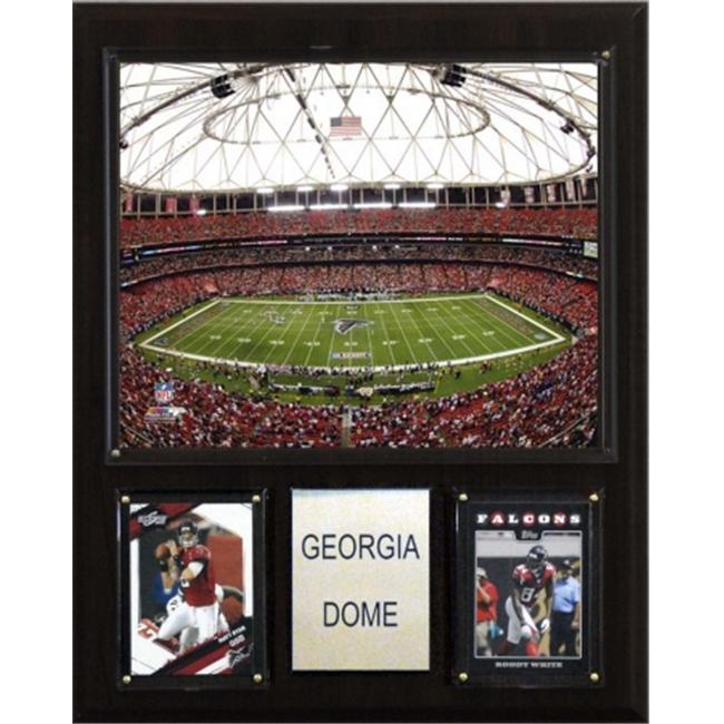 C & I Collectables 1215GADOME NFL Georgia Dome Stadium Plaque