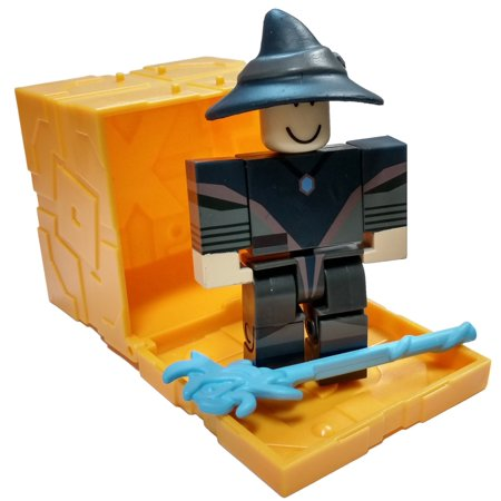 Roblox Series 5 Hexaria: Elite Mage Mini Figure [with Gold Cube and Online Code] [No Packaging]