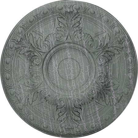 23 1 2 OD x 2 3 4 P Granada Ceiling Medallion Fits Canopies up to 7 1