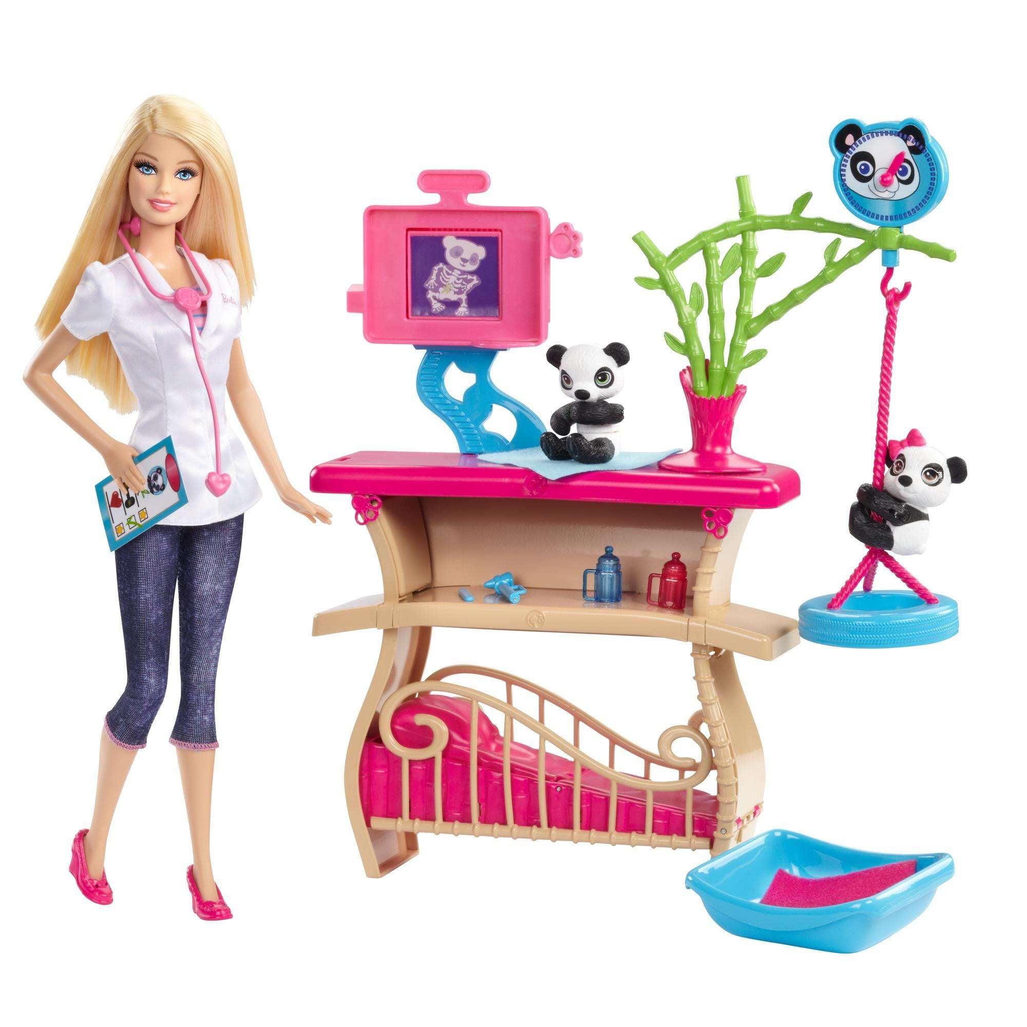 Barbie Careers Panda Caretaker Playset