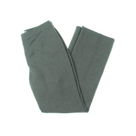 Le Suit Womens Woven Office Dress Pants Gray 4