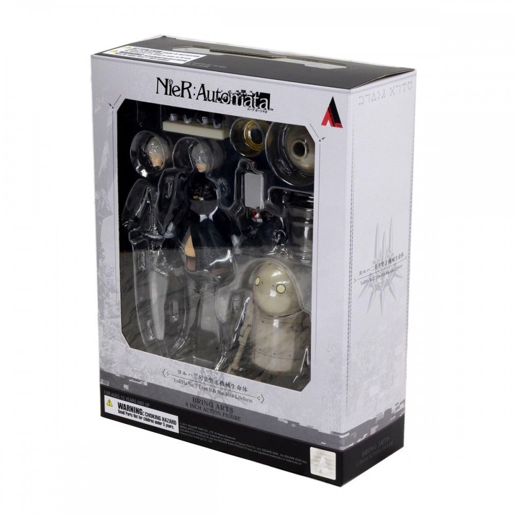 Machine Lifeform Set Nier Automata 6 Inch Action Figure Bring Arts Series